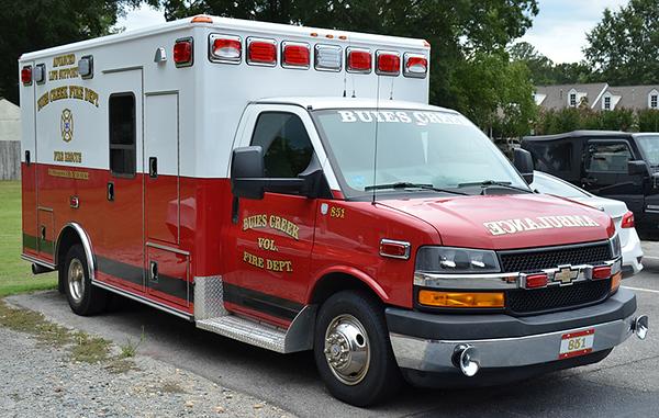 """""""Ambulance 851"""""""