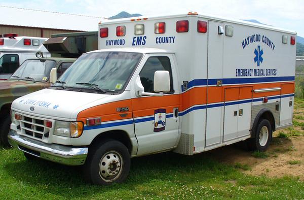 """Former Ambulance 2165"""