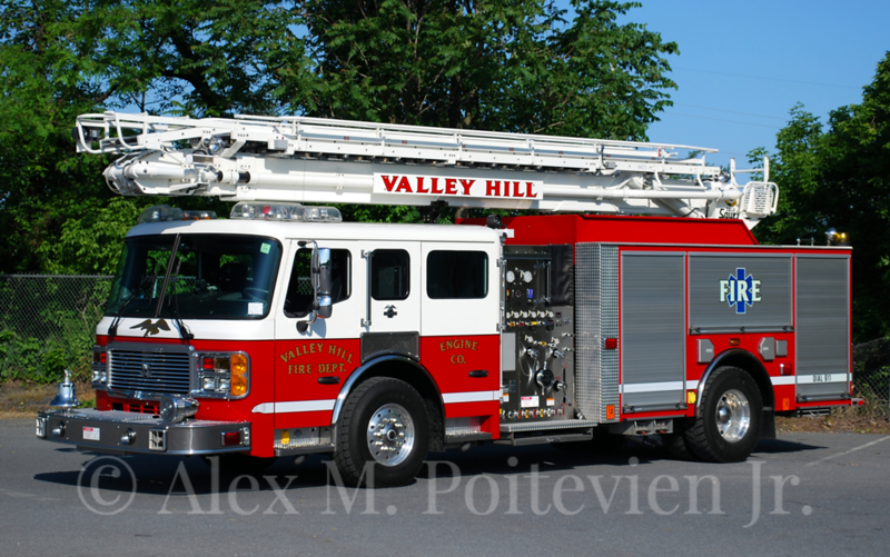 Valley Hill Fire Department<br /> Engine-1<br /> 2009 ALF Eagle 2000/500/65'<br /> Photo by: Alex M. Poitevien Jr.