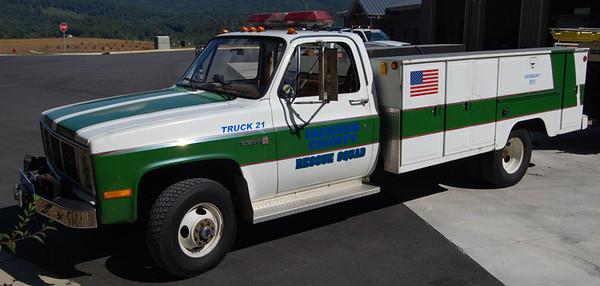 """Former Truck 21"""