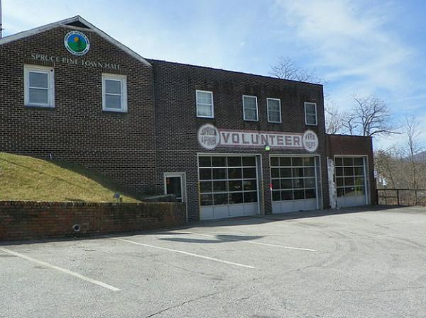 """""""Former Station 1"""" (front)"""