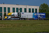 Roush Fenway Racing team haulers.