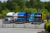 RIchard Petty Motorsports team haulers.