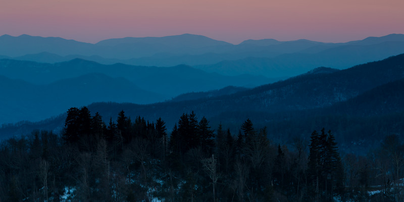 Smoky Mountain Dusk