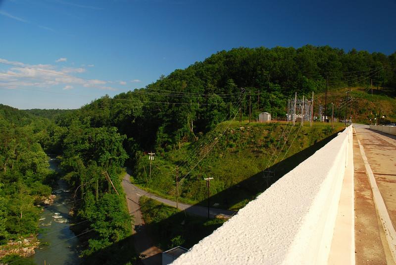 Lake Lure Dam, Rutherford County (NC) May 2009