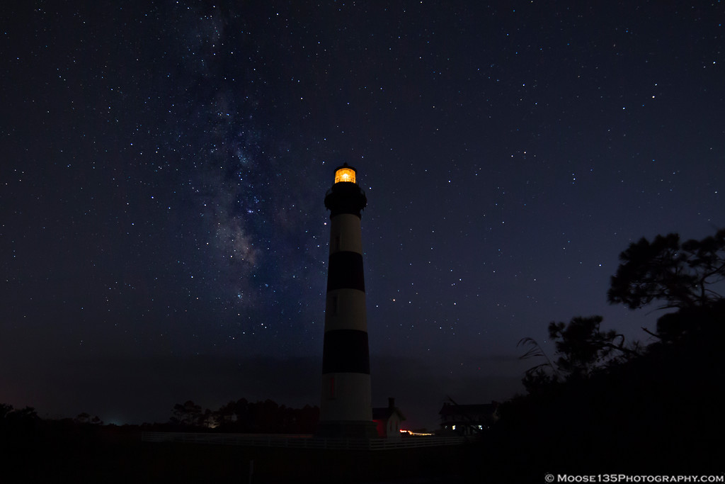 IMAGE: https://photos.smugmug.com/NorthCarolina/Outer-Banks/i-mRVrTTG/0/5ec47fce/XL/JM_2017_09_22_Bodie_Island_Lighthouse_Milky_Way_001-XL.jpg
