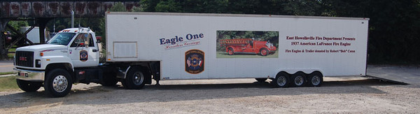 """Eagle One Hauler""<br /> 1994 GMC TopKick<br /> Transporter Unit<br /> <br /> Andrew Messer Photo"