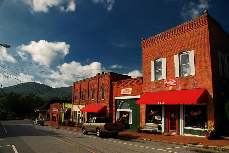 Cherry Street, Black Mountain, NC (Buncombe County) 2008