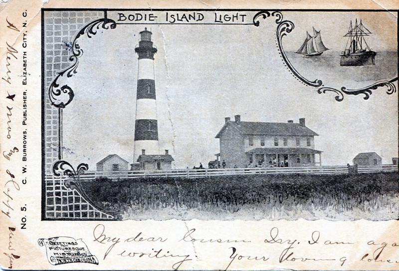Bodie Island Postcard Light020