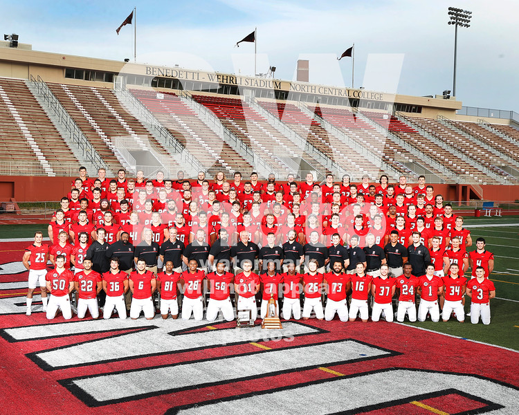 2016 North Central College Football Team Stevewphoto