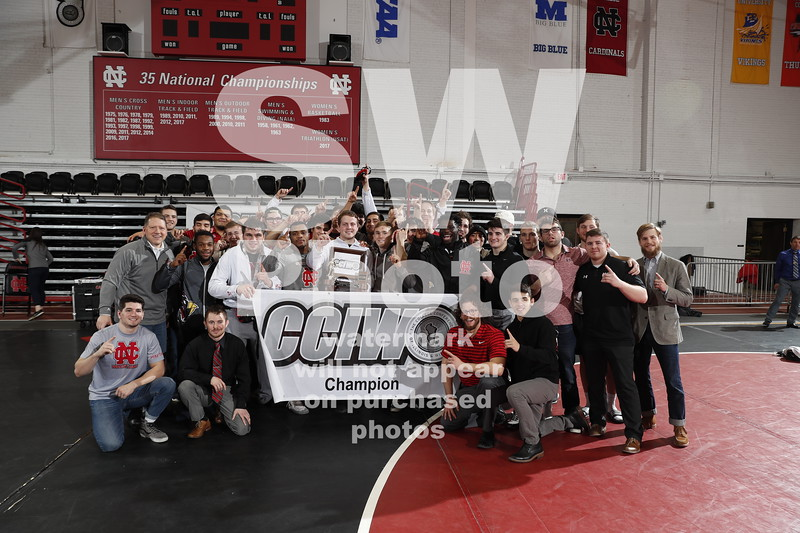 NCC Wrestling at CCIW Tournament