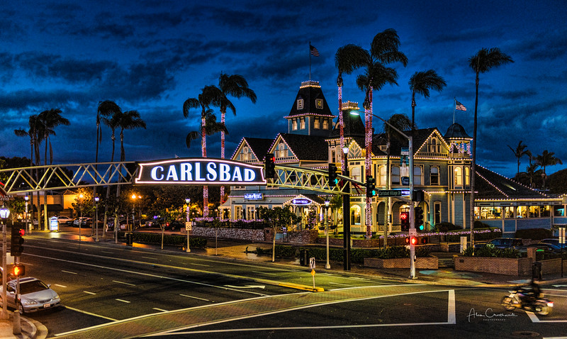 """Carlsbad at Christmas"""