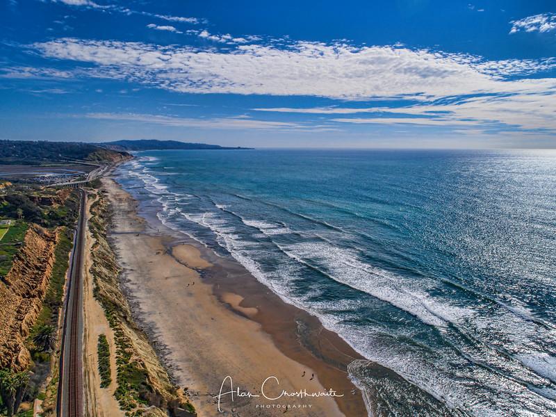 Solana Beach Aerial