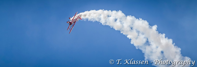The Red Baron at the 2015 Air Show in Fargo, North Dakota, USA.