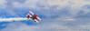 The Red Baron biplane at the  2015 Air Show in Fargo, North Dakota, USA.