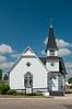 The Presbyterian Church in Walhalla, North Dakota, USA.