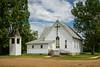 The Lutheran Church building in Lebanon, North Dakota, USA.