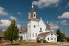 The St. Boniface Catholic church in Walhalla, North Dakota, USA.
