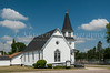 The Presbyterian Church in Walhalla, North Dakota, USA.