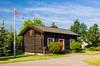 A Sigdal  Norwegian home at the Scandinavian Heritage Center in Minot, North Dakota, USA.