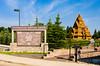 The Scandinavian Heritage Center in Minot, North Dakota, USA.