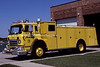 Fargo E-3 022   1976 International Cargostar/Luverne  1250/500<br /> 1984 General Safety rebuild