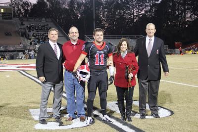 North Gwinnett High School Senior Night - Football Photos 2012       CarlaHoff.com Photography