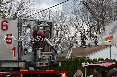North Massapequa F.D. House Fire 150 N Atlanta Ave 4-27-15