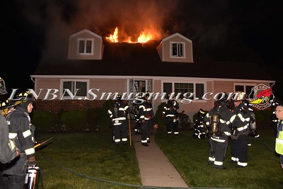 North Massapequa F.D. House Fire 211 North Richmond Ave. 7-25-15