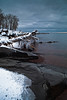 The North Shore of Lake Superior got it's first real snow over the weekend following Thanksgiving, 2012.  This is a view from a park near Duluth, MN on a cold morning shortly after the snowfall ended.  1/3