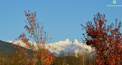 The Beautiful North Vancouver Mountains