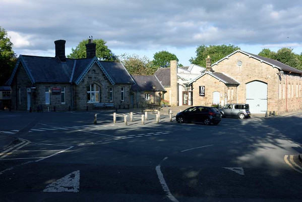 Former Midland Railway station, Hawes, 17 September 2016.  Now the Dales Countryside museum.