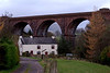 Lune Viaduct, Waterside, 7 November 2008 5.  A final view, looking north east.