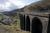 Smardalegill Viaduct, Sat 3 March 2012 2.  Looking south towards Sandy Bank summit.  The viaduct is now in the care of the Northern Viaducts Trust.  It crosses the Scandal Beck, which is flowing towards the camera and which joins the River Eden north of Kirkby Stephen.