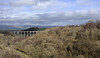 Smardalegill, Sat 3 March 2012.  Looking north.  The course of the line from Kirkby Stephen East to Tebay is at right.  It passes beneath the Midland's Smardale viaduct in the distance.