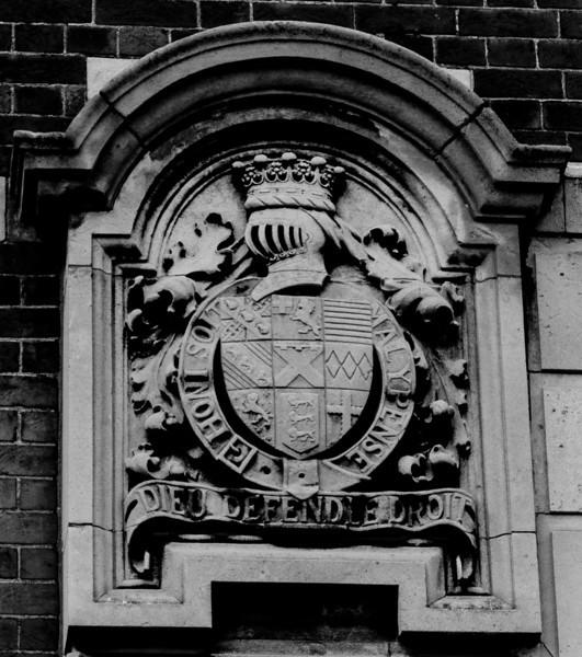 Coat of Arms, Police Station,  Angel Street,  Northampton