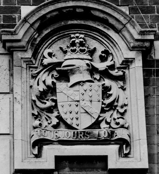 Coat of Arms II, Police Station,  Angel Street,  Northampton