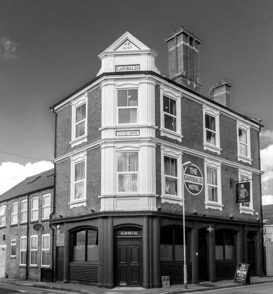 Garibaldi Hotel (formerly The Garibaldi), Bailiff Street, Northampton