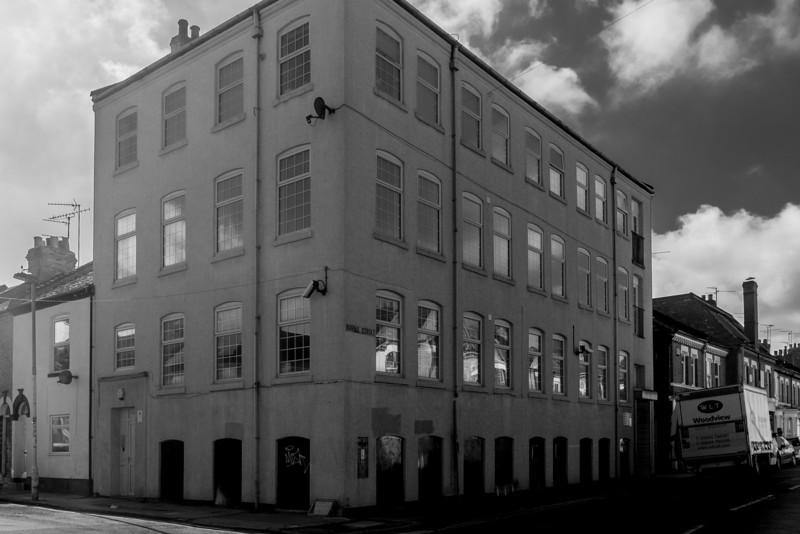 Burns Street Shoe Factory, Northampton