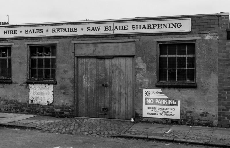 Scalemore workshop, Billington Street, Northampton