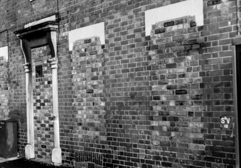 Bricked up, Wellinborough Road, Northampton