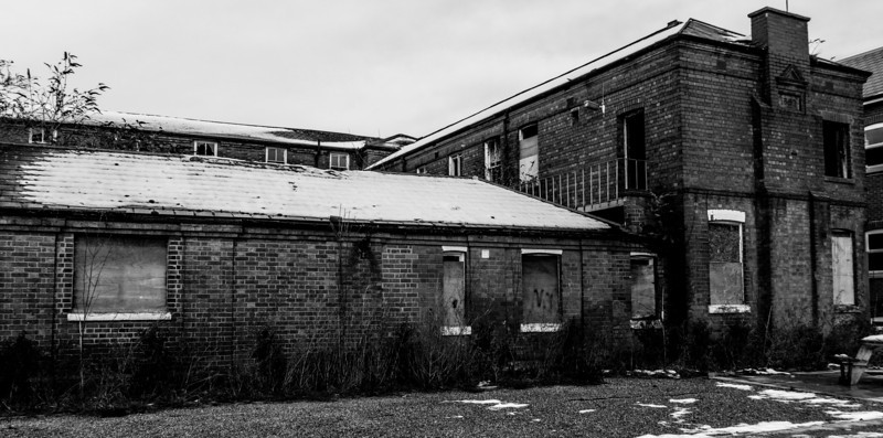 Failure of the Planning system, St Edmunds Hospital (former workhouse), Ward 1897