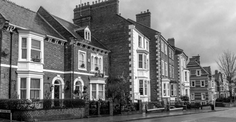 Mixed terrace houses, Billing Road, Northampton