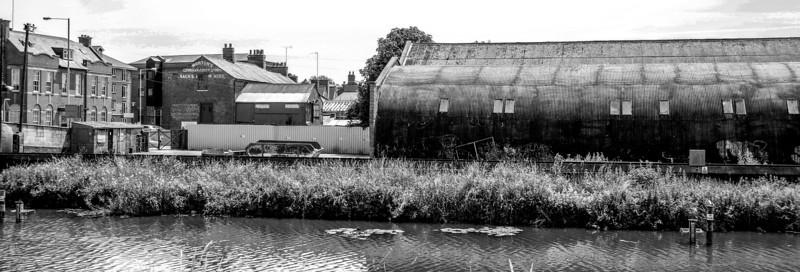 London Road from Carlesburg Wharf, Northampton