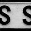 Cast Iron Sign, Collins Street, Northampton