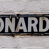 Street sign, St Leonard's Road, Northampton