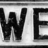 Cast Iron Sign, Kingswell Strreet, Northampton _
