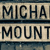 Cast Iron Sign, St Michael's Mount, Northampton