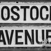 Cast Iron sgn, Bostock Avenue, Northampton