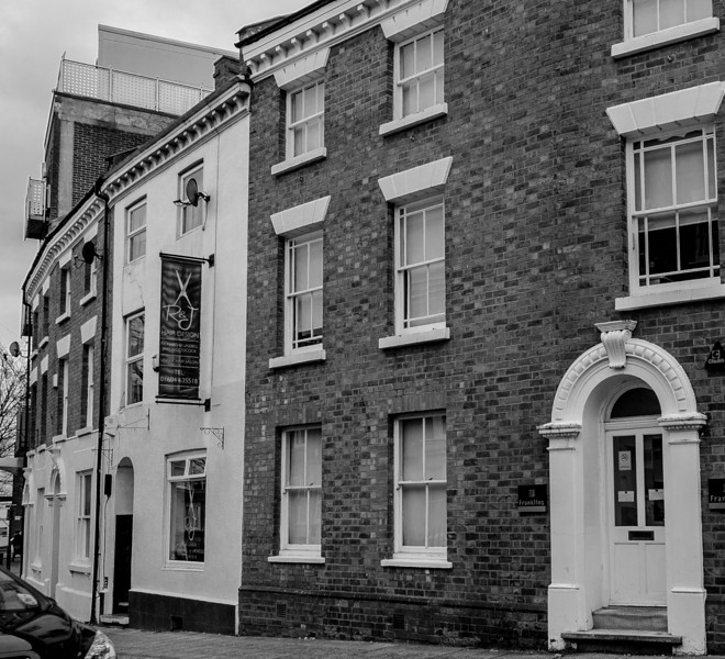 Curved Terrace, Castilian Street, Northampton